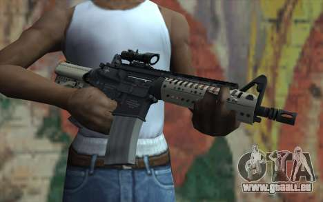 VLTOR SBR 5.56 ACOG Sight für GTA San Andreas dritten Screenshot