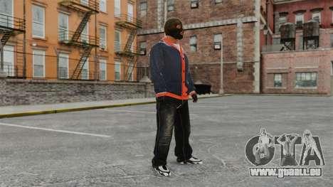 Franklin Clinton v2 pour GTA 4 secondes d'écran
