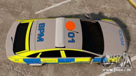 Ford Mondeo Metropolitan Police [ELS] für GTA 4 rechte Ansicht