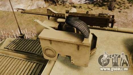 Cougar MRAP 4X4 für GTA 4 Seitenansicht