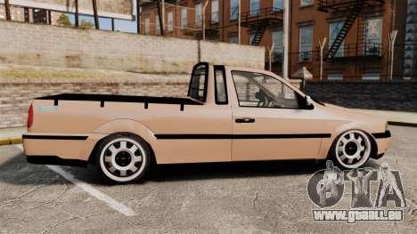 Volkswagen Saveiro G3 SuperSurf pour GTA 4 est une gauche