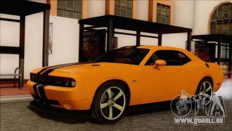 Dodge Challenger SRT8 2012 HEMI pour GTA San Andreas