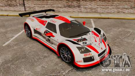 Gumpert Apollo S 2011 für GTA 4 Innen