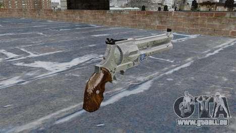 Revolver-Blue Rose- für GTA 4 Sekunden Bildschirm