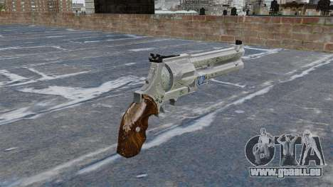 Revolver-bleu Rose- pour GTA 4 secondes d'écran