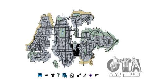 Liberty City Map V Style pour GTA 4
