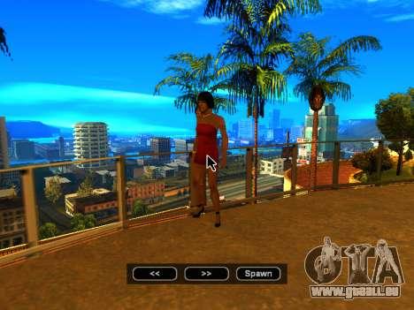 Pak peaux les filles pour GTA San Andreas neuvième écran
