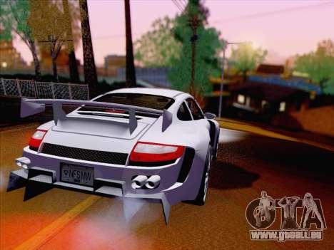 Porsche Carrera S pour GTA San Andreas vue de droite