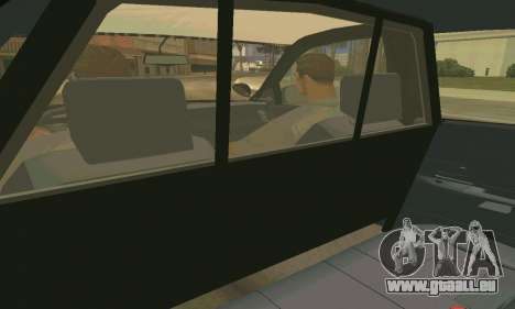 Ford Crown Victoria Police LV pour GTA San Andreas salon