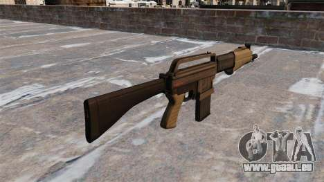 Fusil de chasse Franchi SPAS-15 pour GTA 4 secondes d'écran