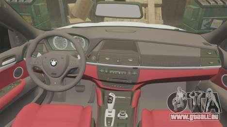 BMW X6 Lancashire Police [ELS] für GTA 4 Seitenansicht