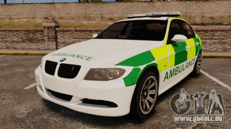 BMW 330i Ambulance [ELS] für GTA 4