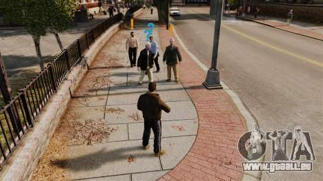 Payday 2 Blips System für GTA 4