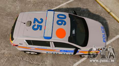 Kia Sportage Metropolitan Police [ELS] für GTA 4 rechte Ansicht