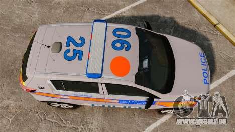 Kia Sportage Metropolitan Police [ELS] pour GTA 4 est un droit