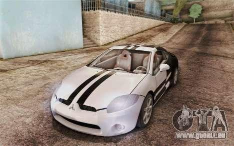 Mitsubishi Eclipse GT v2 für GTA San Andreas Innenansicht