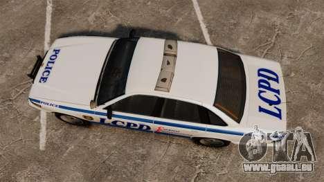 Vapid Police Cruiser v2.0 für GTA 4 rechte Ansicht