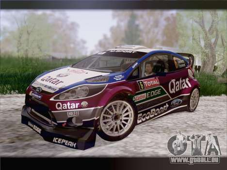 Ford Fiesta RS WRC 2013 pour GTA San Andreas