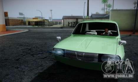 Dacia 1300 Retro Art pour GTA San Andreas vue arrière