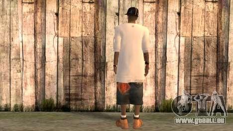 Rappeur Rand pour GTA San Andreas deuxième écran
