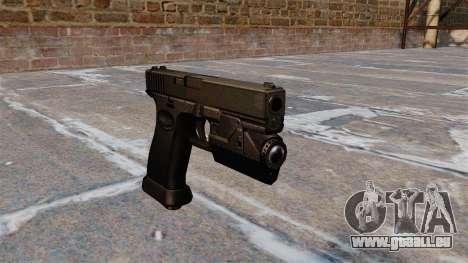 Chargement automatique pistolet Glock 20 pour GTA 4