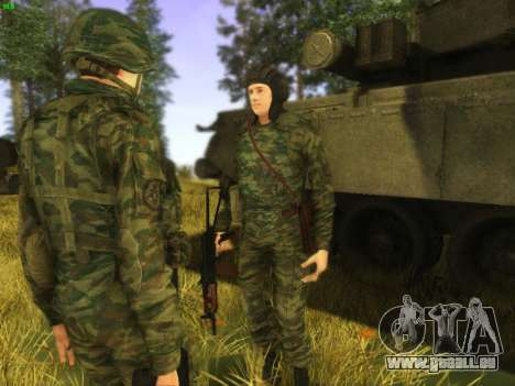 Panzerschütze für GTA San Andreas