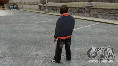 Franklin Clinton v2 für GTA 4 dritte Screenshot