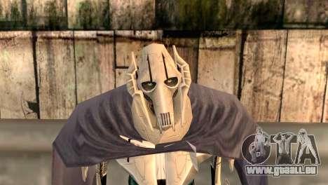 Général Grievous pour GTA San Andreas troisième écran