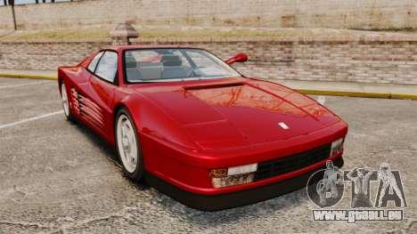 Ferrari Testarossa 1986 v1.1 pour GTA 4