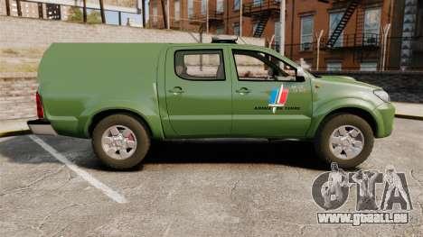 Toyota Hilux Land Forces France [ELS] pour GTA 4 est une gauche