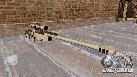 Fusil de tireur d'élite McMillan TAC-50 pour GTA 4