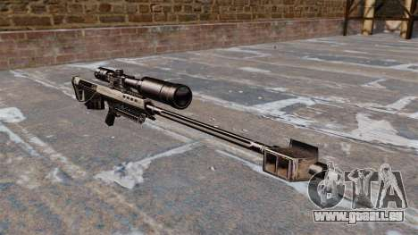 Barrett M95 Scharfschützengewehr für GTA 4