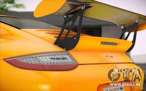 RUF RT12R für GTA San Andreas Innenansicht
