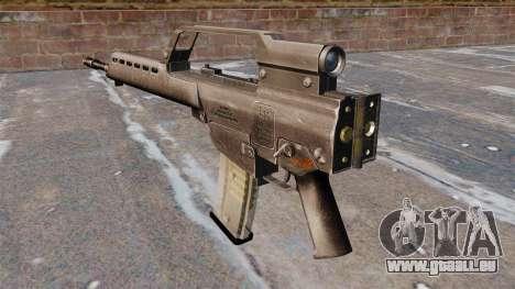 Fusil d'assaut HK G36 pour GTA 4 secondes d'écran