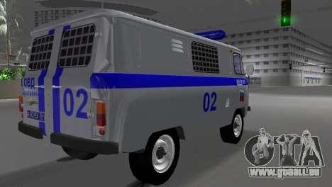 UAZ-3741 AUMONT pour une vue GTA Vice City de la gauche