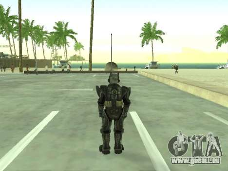 New skin from Fallout 3 für GTA San Andreas dritten Screenshot