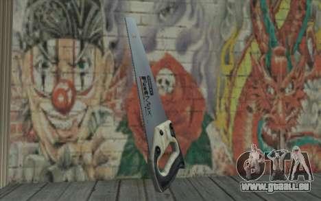 Holzsäge für GTA San Andreas