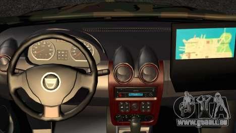 Dacia Duster Army Skin 2 für GTA San Andreas rechten Ansicht