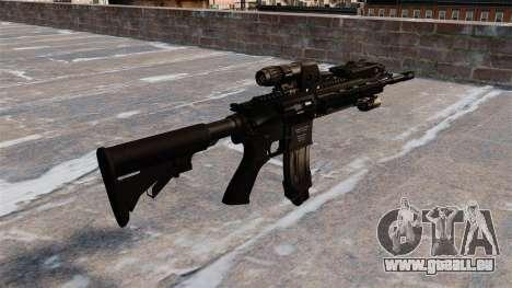 Automatique Colt M4A1 carbine pour GTA 4 secondes d'écran