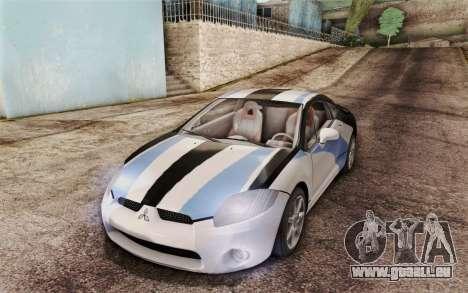 Mitsubishi Eclipse GT v2 für GTA San Andreas Seitenansicht