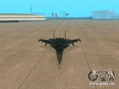 Su-33 für GTA San Andreas Seitenansicht