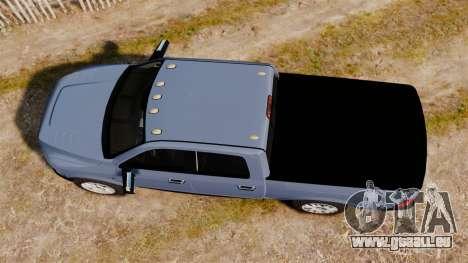 Dodge Ram 2010 für GTA 4 rechte Ansicht
