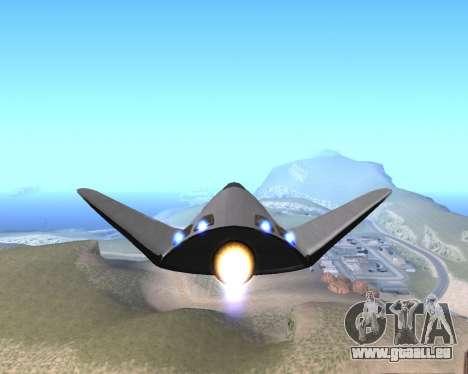 FARSCAPE modul pour GTA San Andreas vue de droite