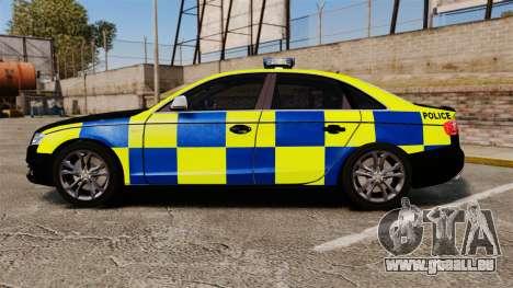 Audi S4 Police [ELS] pour GTA 4 est une gauche