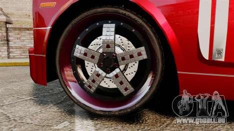 Rolls-Royce Phantom Mansory pour GTA 4 Vue arrière