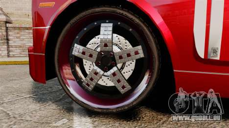 Rolls-Royce Phantom Mansory für GTA 4 Rückansicht