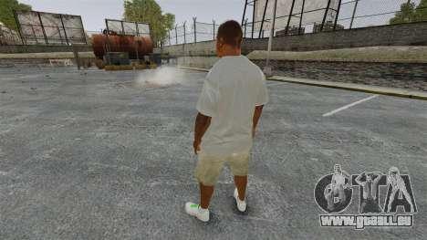 Franklin Clinton v3 pour GTA 4 troisième écran