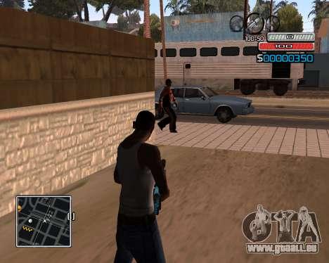 (C) HUD-par Wh_SkyLine pour GTA San Andreas deuxième écran