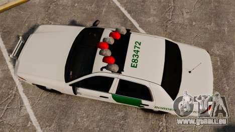 Ford Crown Victoria 1999 U.S. Border Patrol für GTA 4 rechte Ansicht