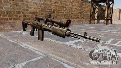 Selbstladegewehr Mk 14 EBR für GTA 4